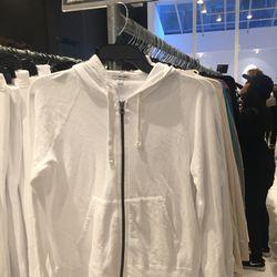 Women's sweatshirt, $50