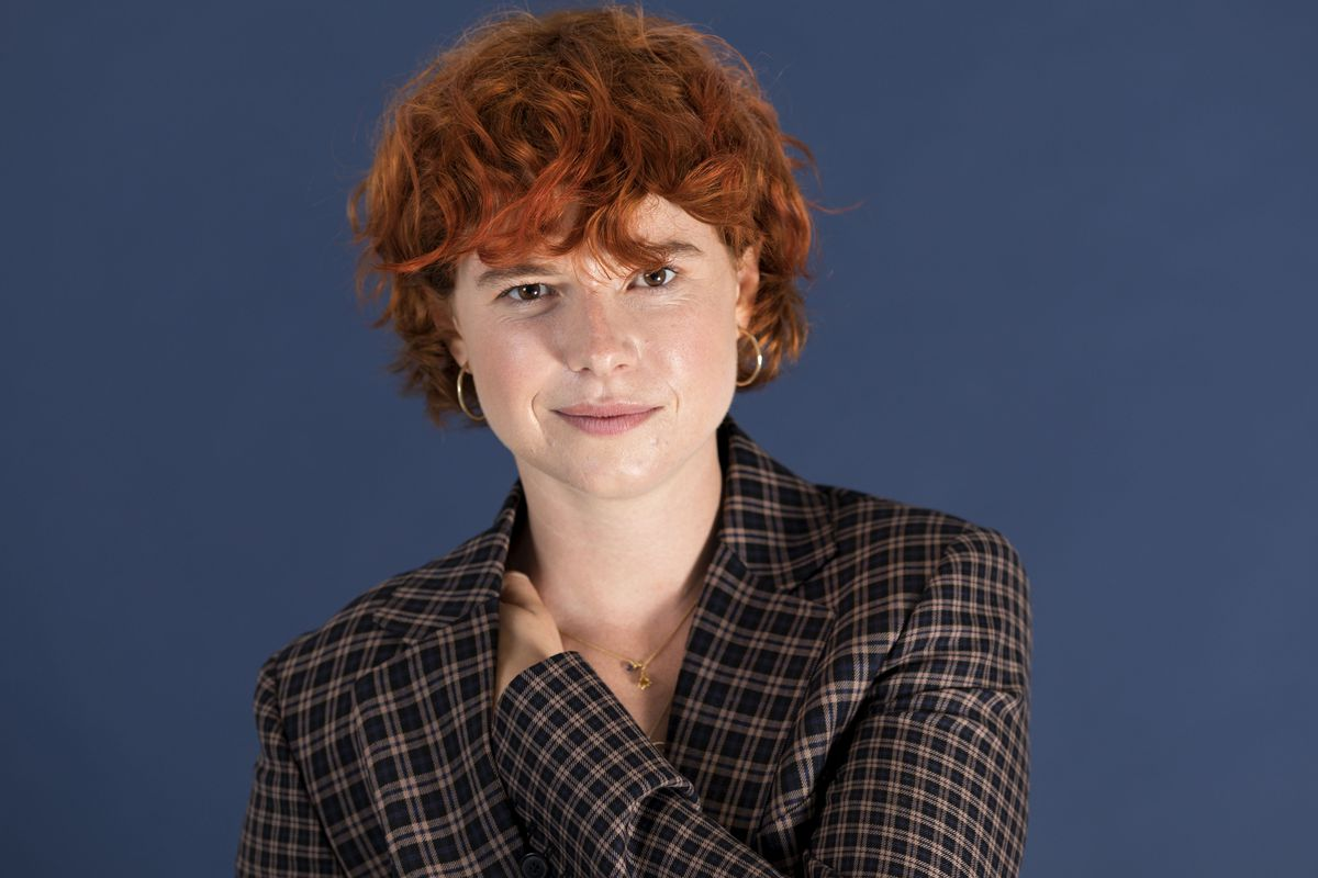 In this June 18, 2019 photo, Jessie Buckley poses for a portrait in New York.