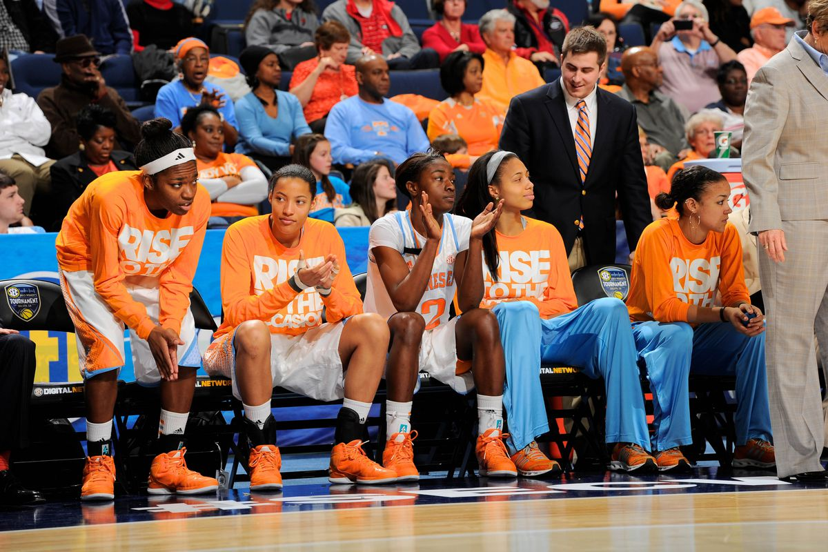 This is your occasional reminder that Tennessee actually has a bench; you'd be forgiven based on the last two months for forgetting.