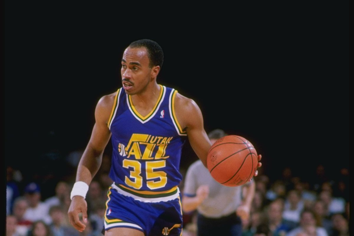 7dbdadeca Darrell Griffith will present Donovan Mitchell his Slam Dunk trophy on  Friday