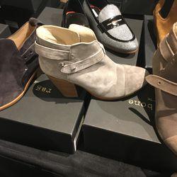 Booties, $225