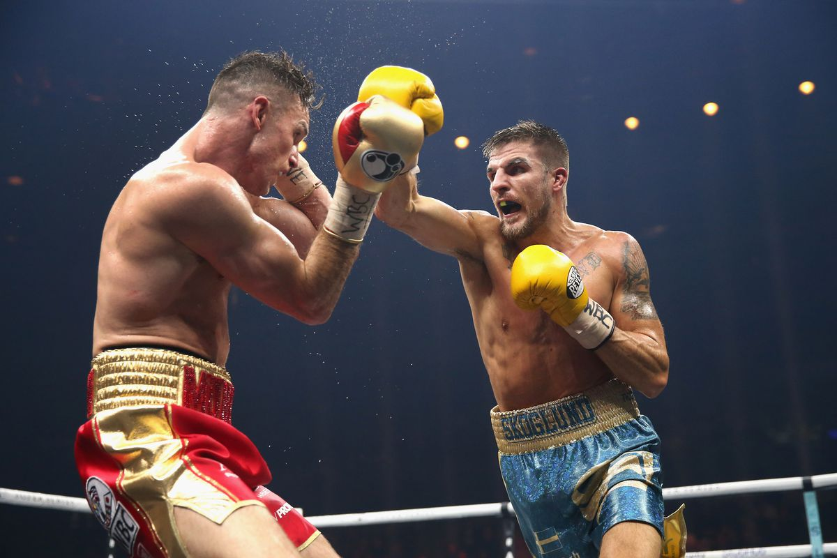Swedish boxer Erik Skoglund placed in coma after suffering brain bleed in training - Bloody Elbow