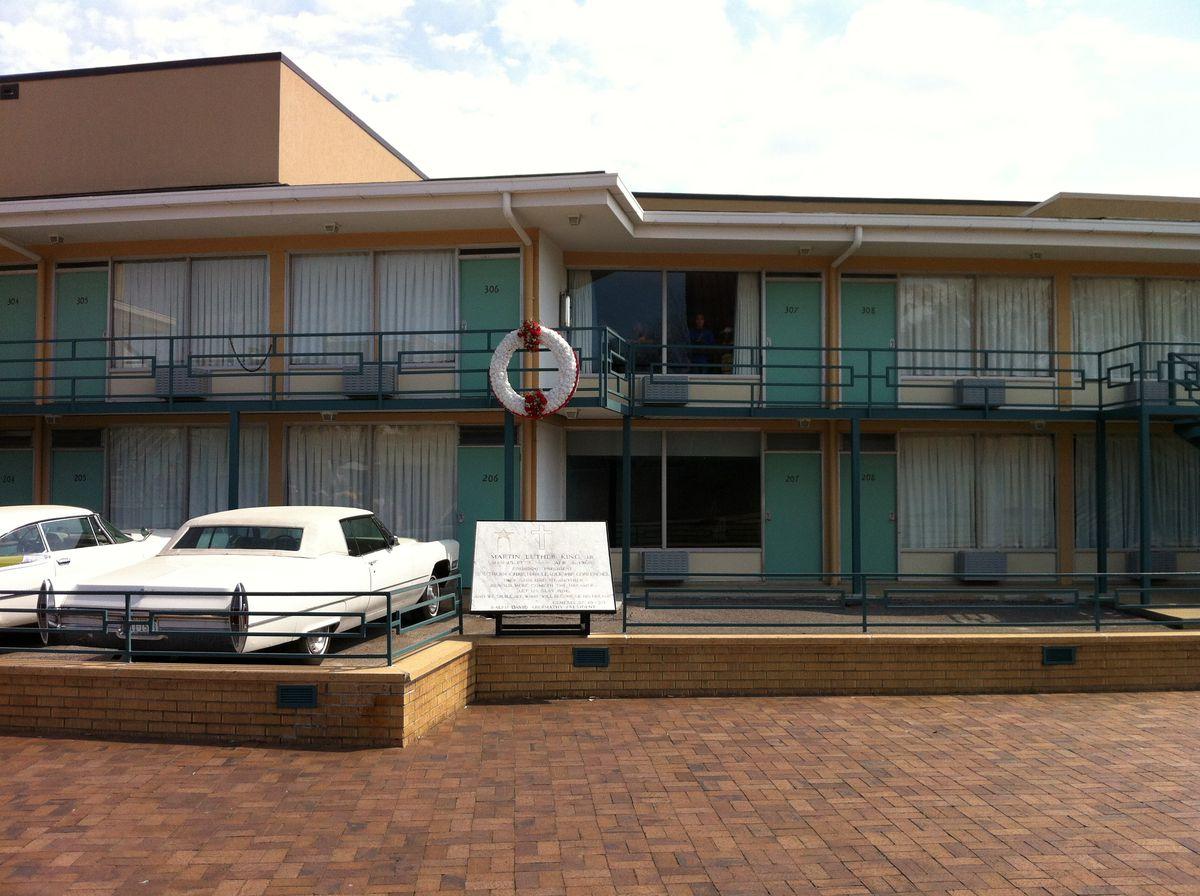The Lorraine Motel in Memphis.