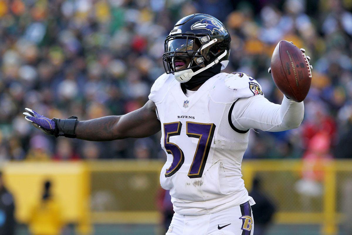 C.J. Mosley Baltimore Ravens Game Jersey