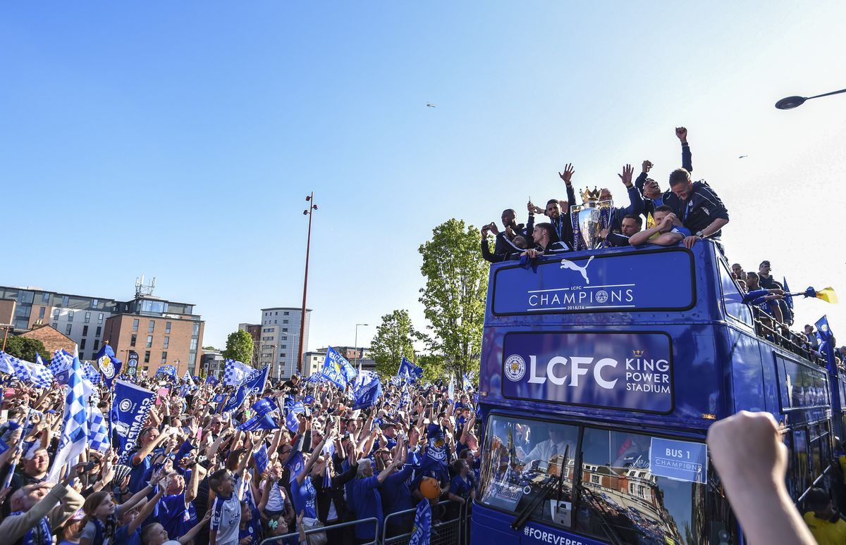 Leicester City's Victory Parade