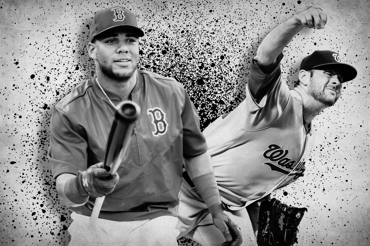 Yoan Moncada and Lucas Giolito (Getty Images/Ringer illustration)