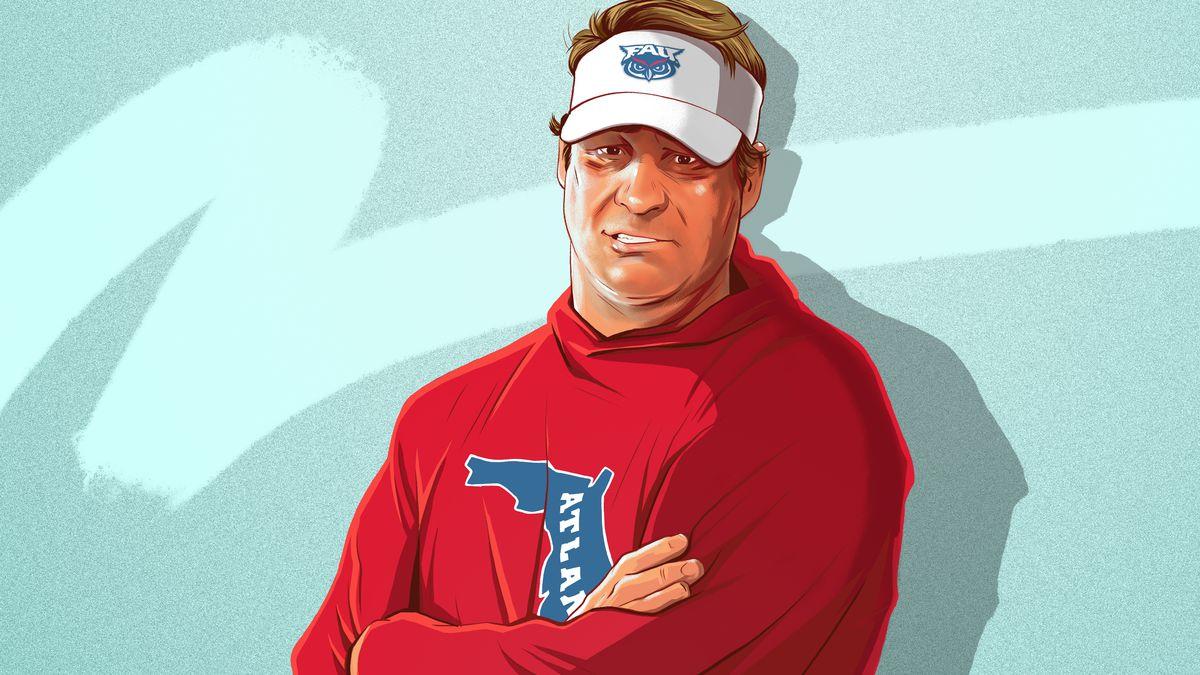 lane kiffin s coaching rebirth at florida atlantic the ringer