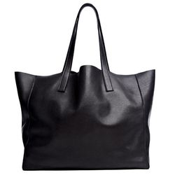 Exclusive black tote, $275.