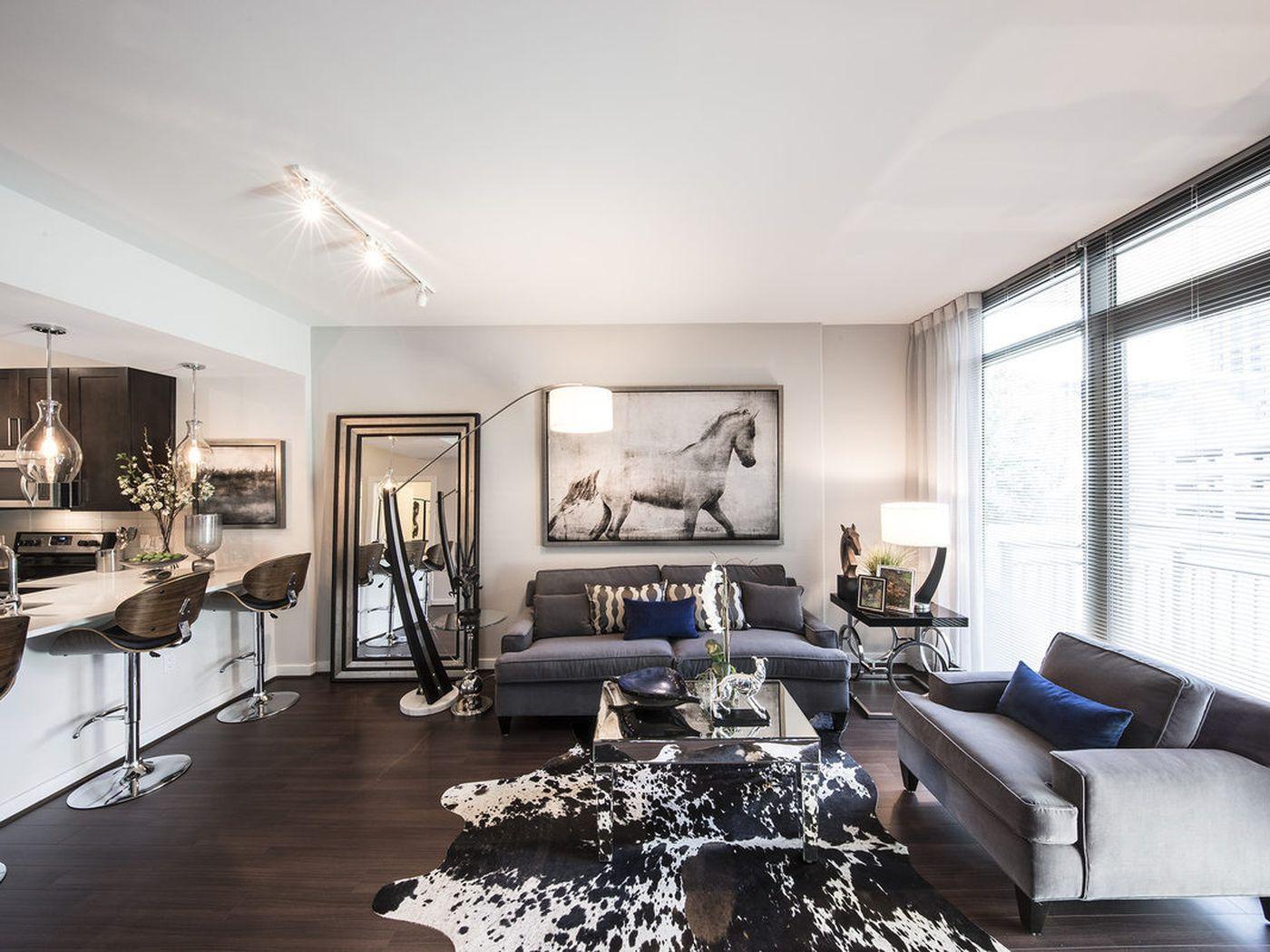 first look atlantas priciest bluest new apartment tower curbed atlanta