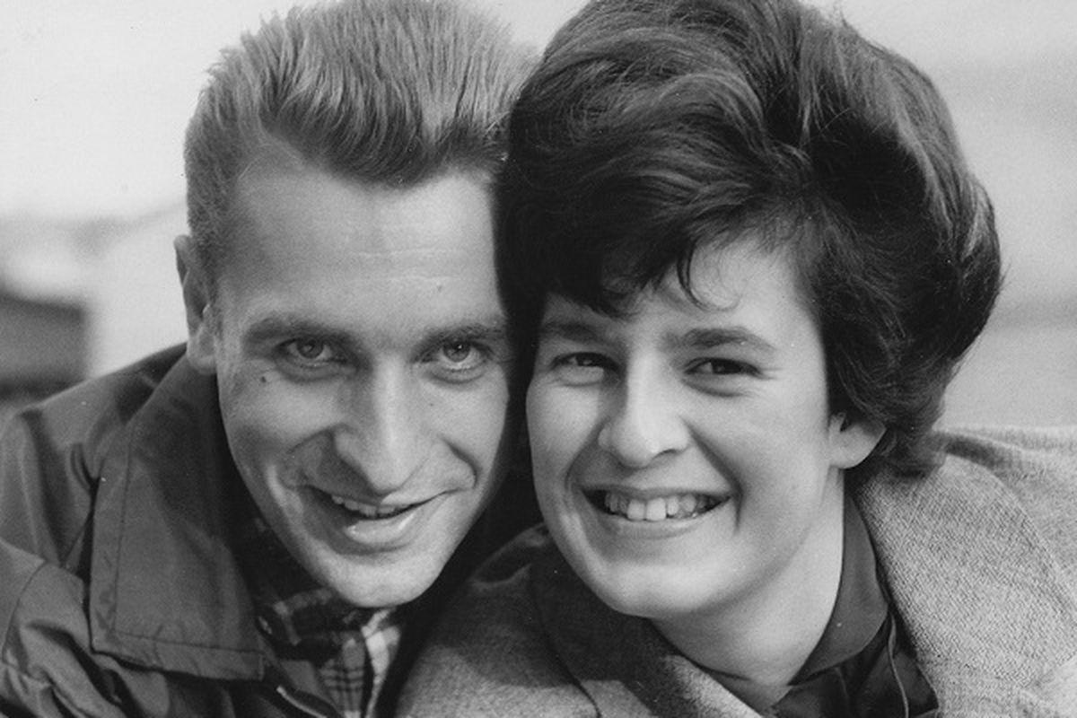 Dieter Wiedemann with Sylvia Hermann