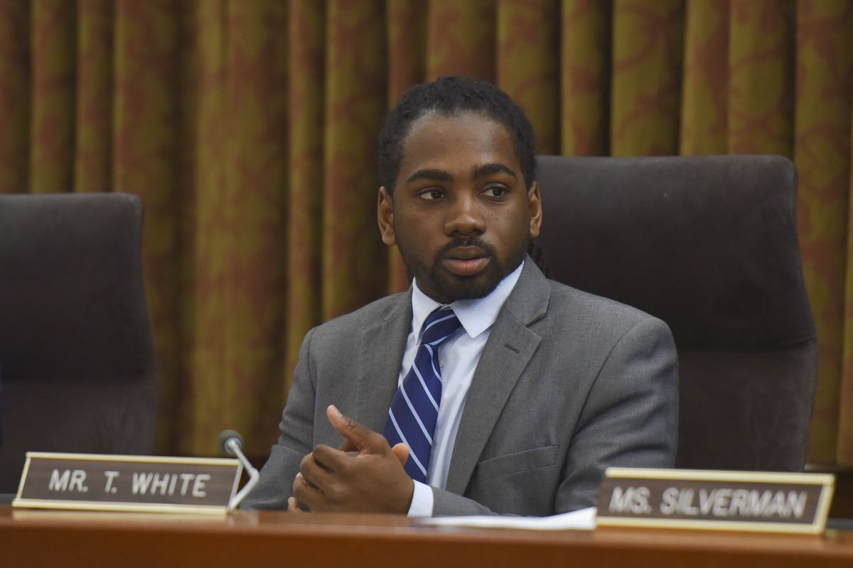 DC Councilmember Trayon White  has apologized for sharing a conspiracy theory linking the Jewish bankers to climate control.