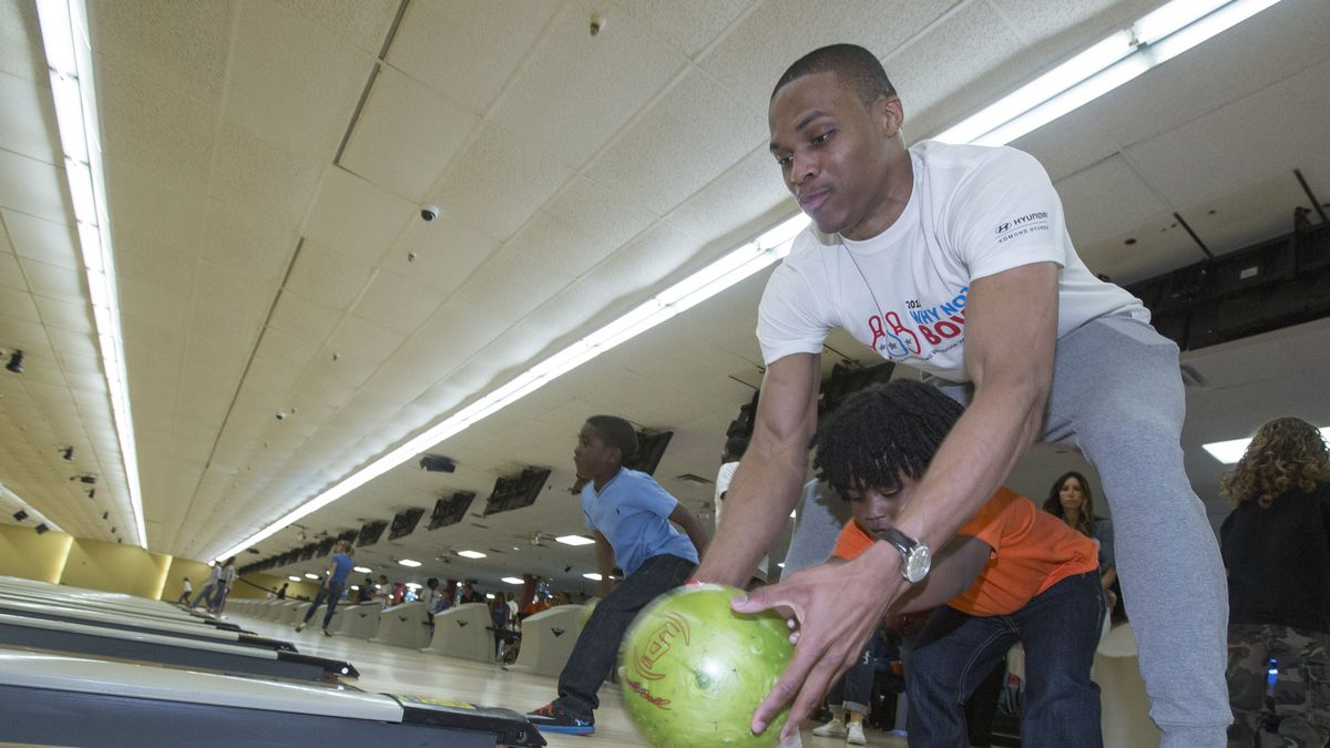 Russell Westbrook Why Not Foundation Bowling Fundraiser
