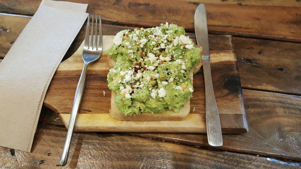 Seventh Flag's avocado toast