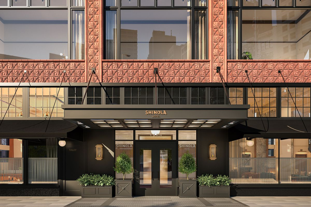 Detroit Homes Neighborhoods Architecture And Real Estate Curbed Vision X Led Wiring Diagram New Shinola Store Opening Downtown On Friday