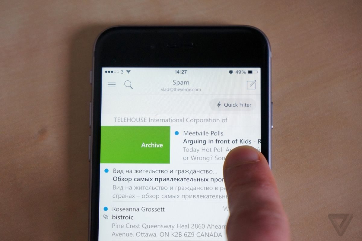 The best Gmail app for the iPhone is now made by Microsoft