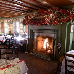 """Decorator extraordinaire William Watts has been creating the Christmas scenes at 1789 for 27 years. He's retired now after 36 years with the Cyde's Restaurant Group, but returns every year to decorate 1789. """"I've always been fascinated with Christmas,"""" Wa"""