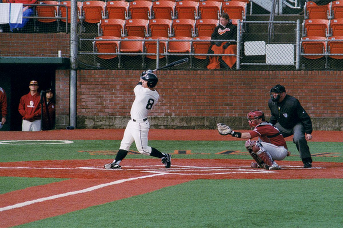 Michael Conforto continues to be a force for Oregon St., just as he was last year. Conforto had 2 more hits, an RBI, and a run scored in the Beavers' 9-2 win over Gonzaga.