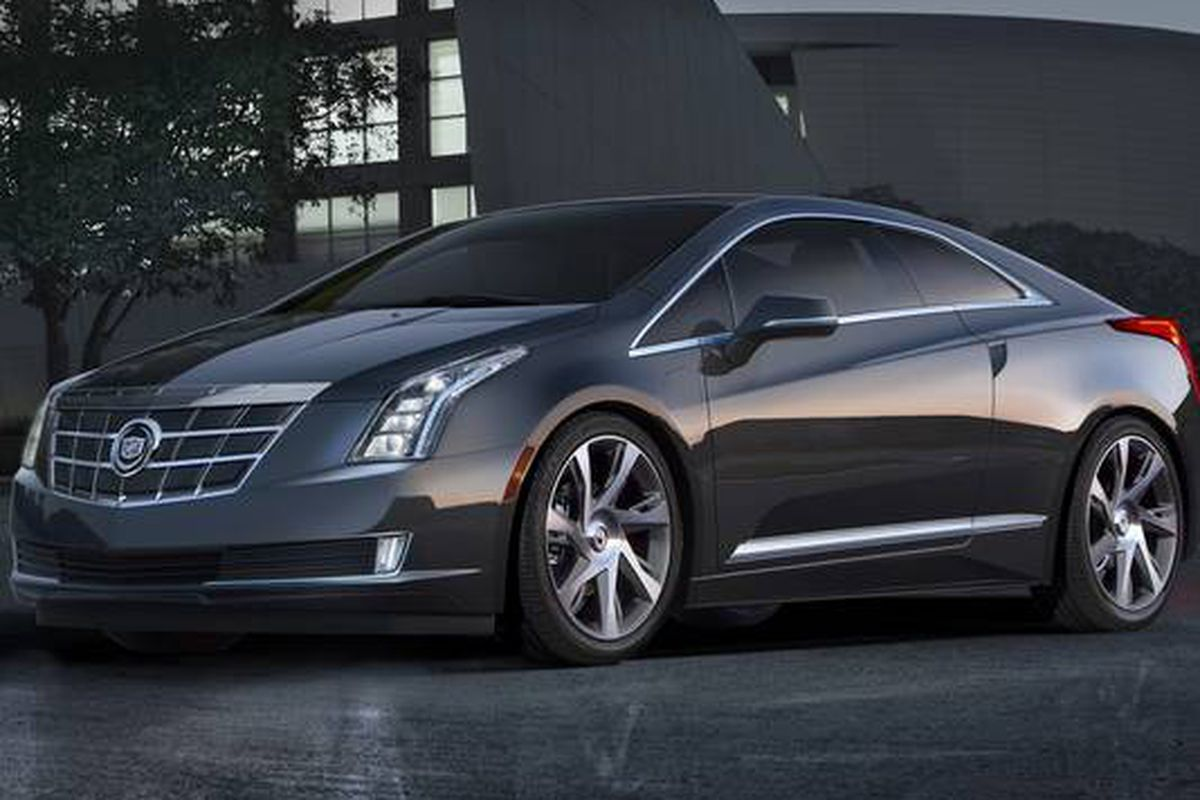 Gm Debuts Luxury Cadillac Elr Plug In Hybrid With Chevy Volt Underpinnings