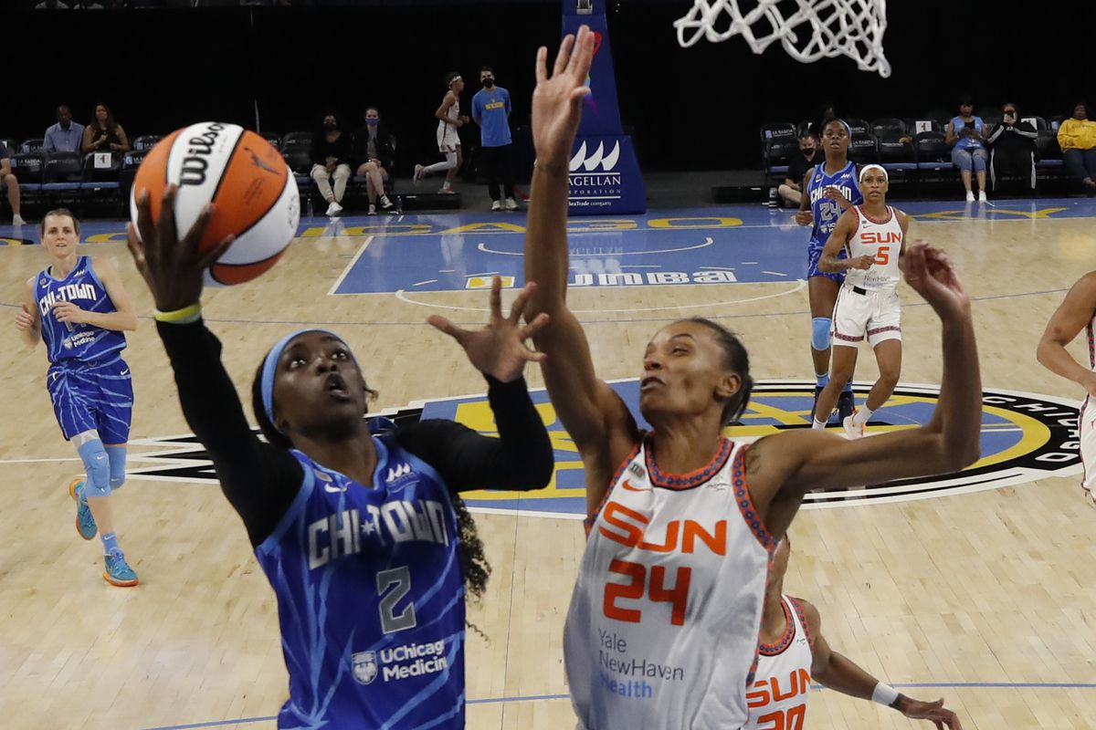2021 WNBA Playoffs: CT Sun, Chicago Sky meet in Game 1 of Semifinals - Swish Appeal