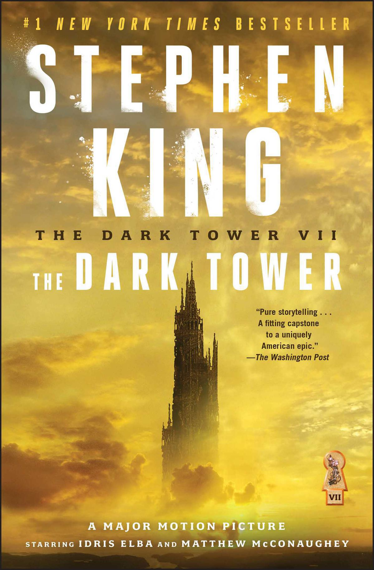 The cover of Volume 7 of the Dark Tower series.