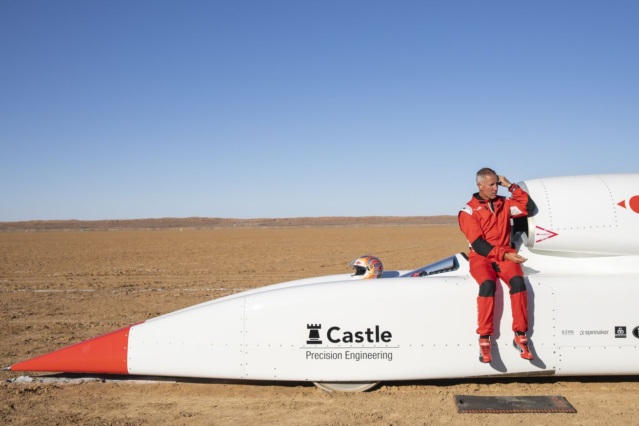 Bloodhound's 1,000 mph rocket car being sold for  million
