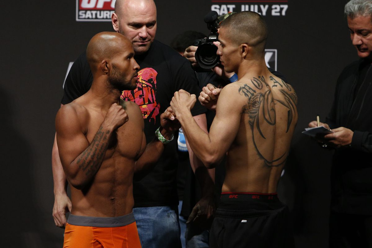 Demetrious Johnson will defend his title at UFC on FOX 8 on Saturday.
