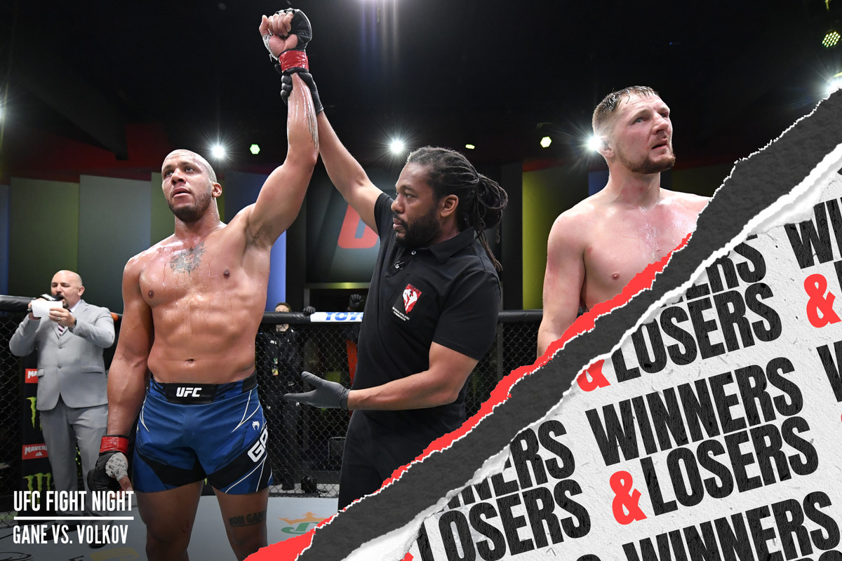 UFC Vegas 30: Ciryl Gane vs. Alexander Volkov