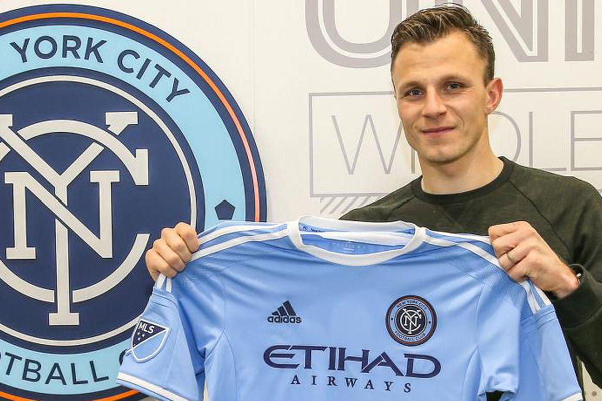 Frédéric Brillant joins New York City FC