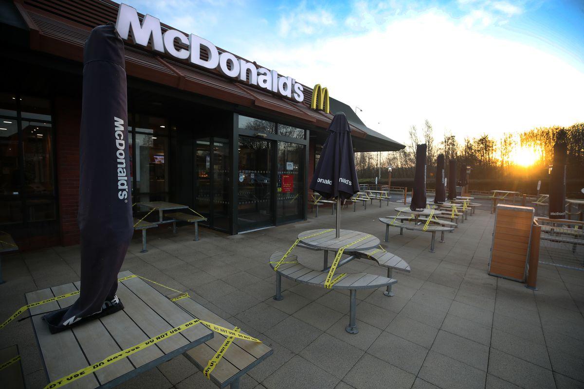 McDonald's closes over coronavirus
