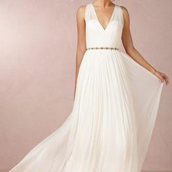 """<a href=""""http://www.bhldn.com/shop-the-bride-wedding-dresses/ruth-gown/productoptionids/fbcaeb8b-b90b-4e9a-9313-32da085940dd"""">Ruth Gown</a>, $800"""
