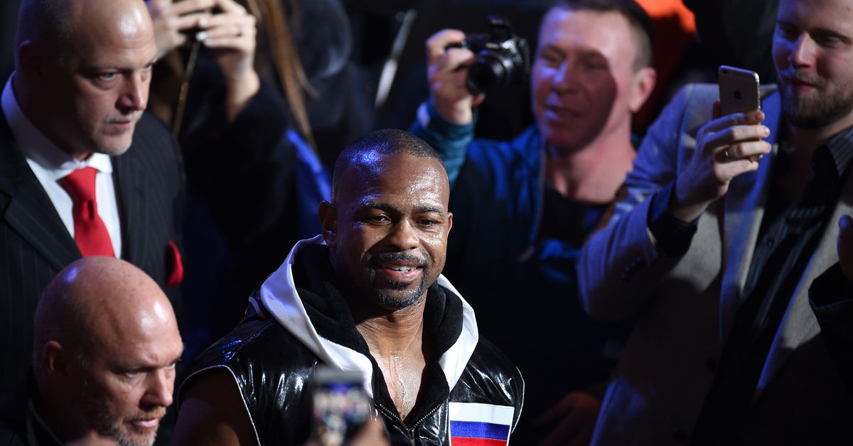 Boxing great Roy Jones Jr.'s final fight will air on UFC Fight Pass