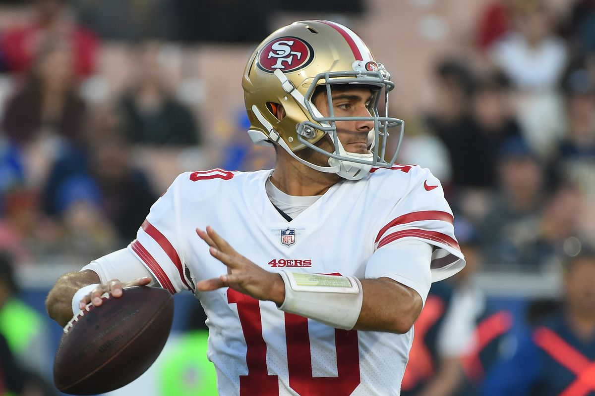 49ers place future in Jimmy Garoppolo's right arm