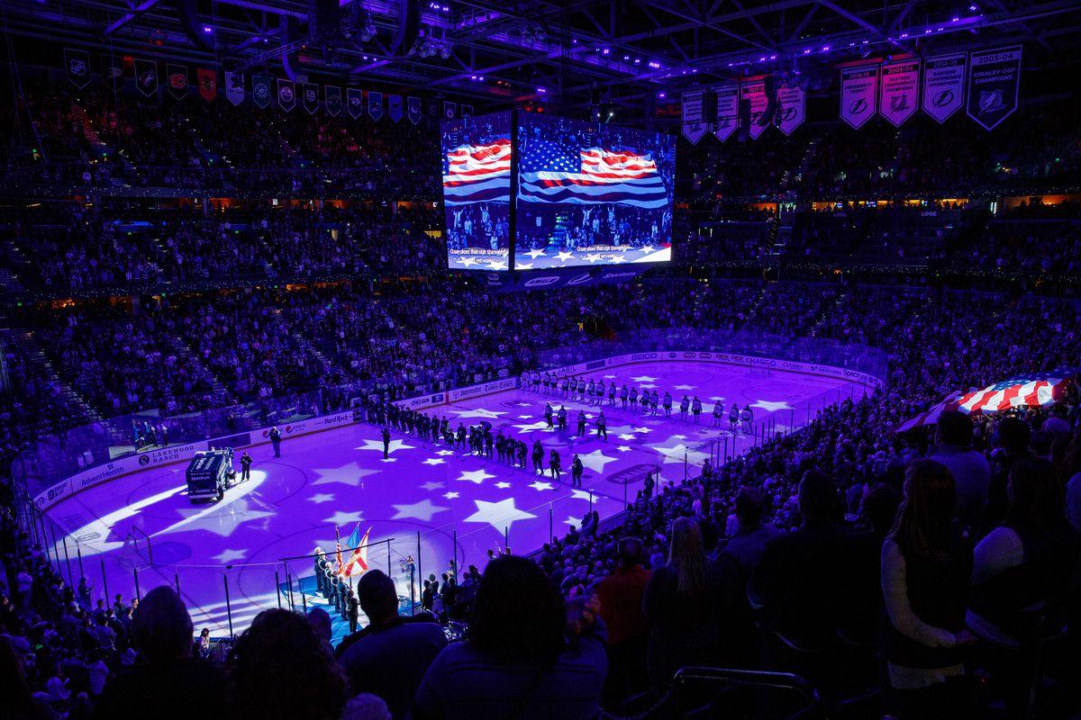 Winnipeg Jets v Tampa Bay Lightning