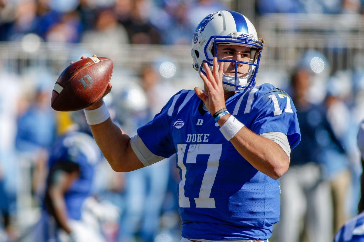 NCAA Football: North Carolina at Duke