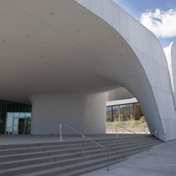 The new Southern Utah Museum of Art is part of the Beverley Taylor Sorenson Center for the Arts at Southern Utah University in Cedar City.