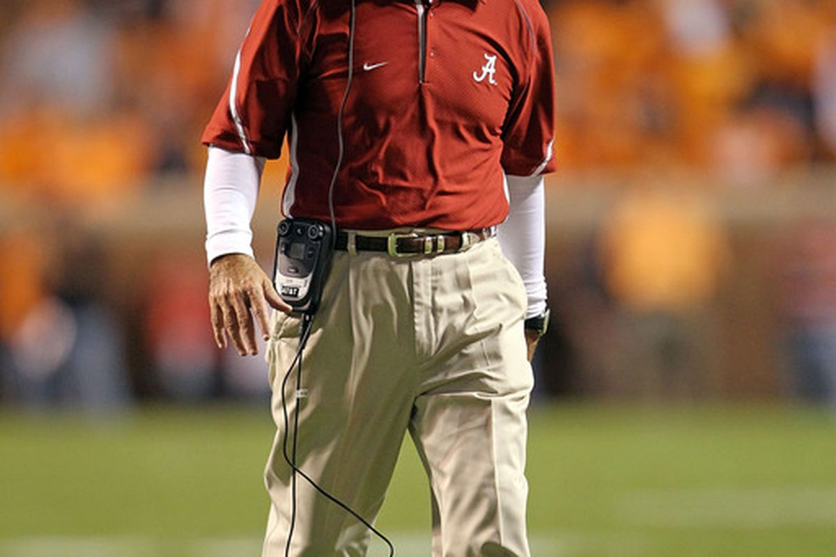 For a few hours on September 1st, Saban is our guy.