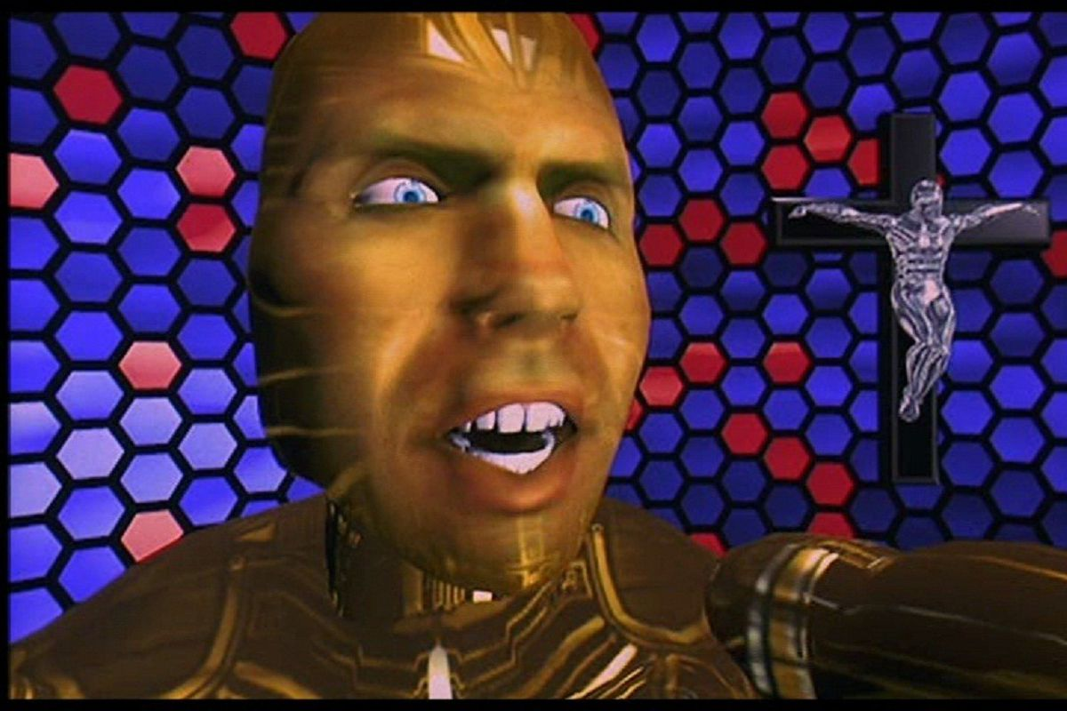 Oh My God A Lawnmower Man Vr Series Is Actually Happening