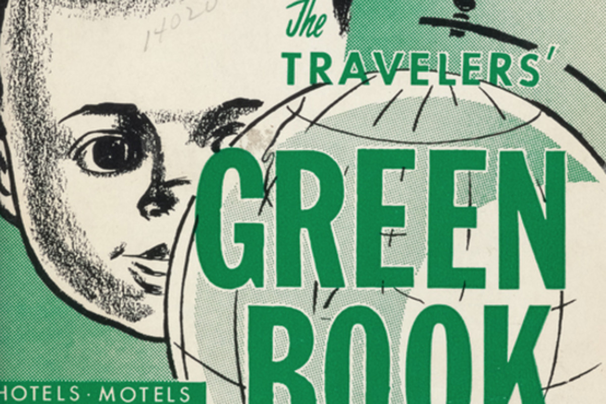 Cover of the 1960 (Negro) Traveler's Green Book. (via New York Public  Library)