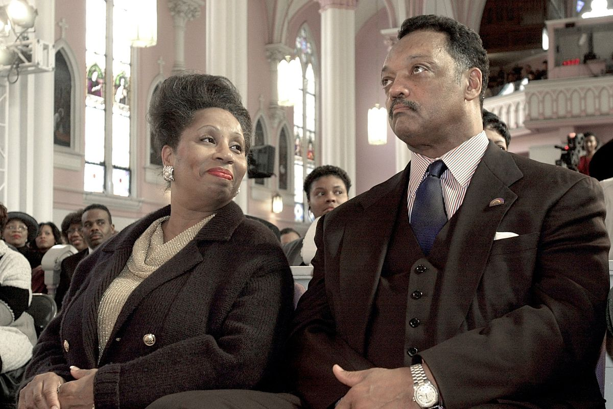 Jacqueline Jackson, the wife of the Rev. Jesse Jackson, is encouraging people to get vaccinated after her bout with the coronavirus landed her in the intensive care unit last month.