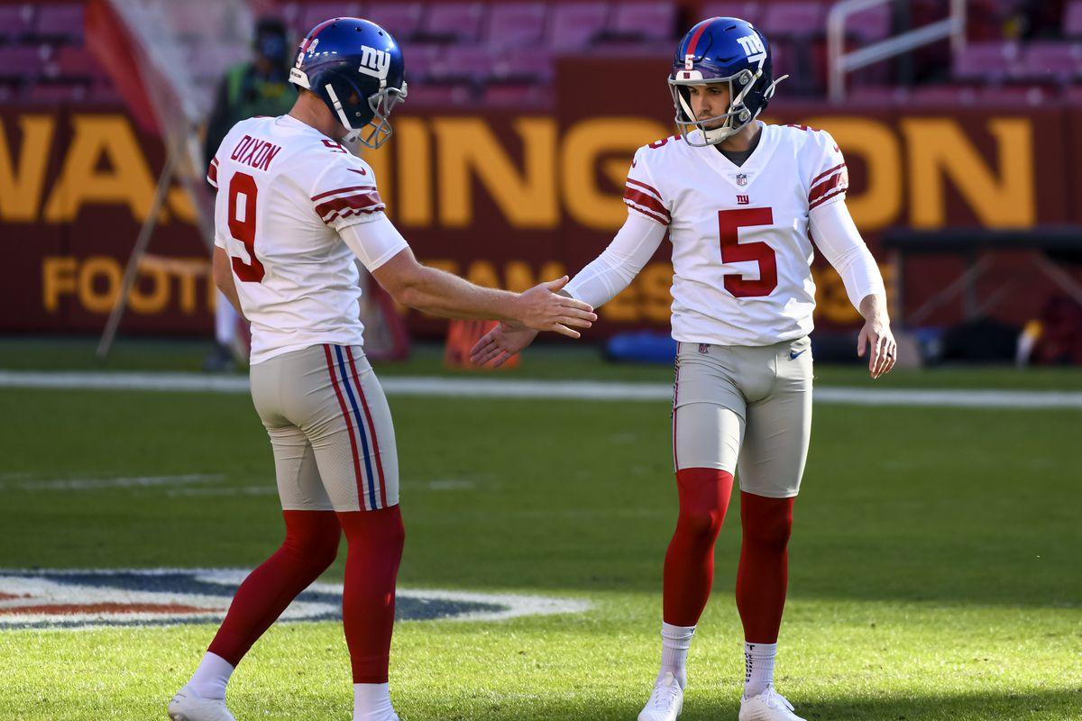 NFL: NOV 08 Giants at Washington Football Team