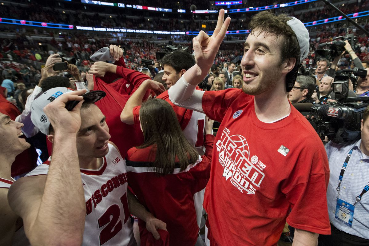 NCAA BASKETBALL: MAR 15 Big Ten Tournament Ð Michigan State v Wisconsin