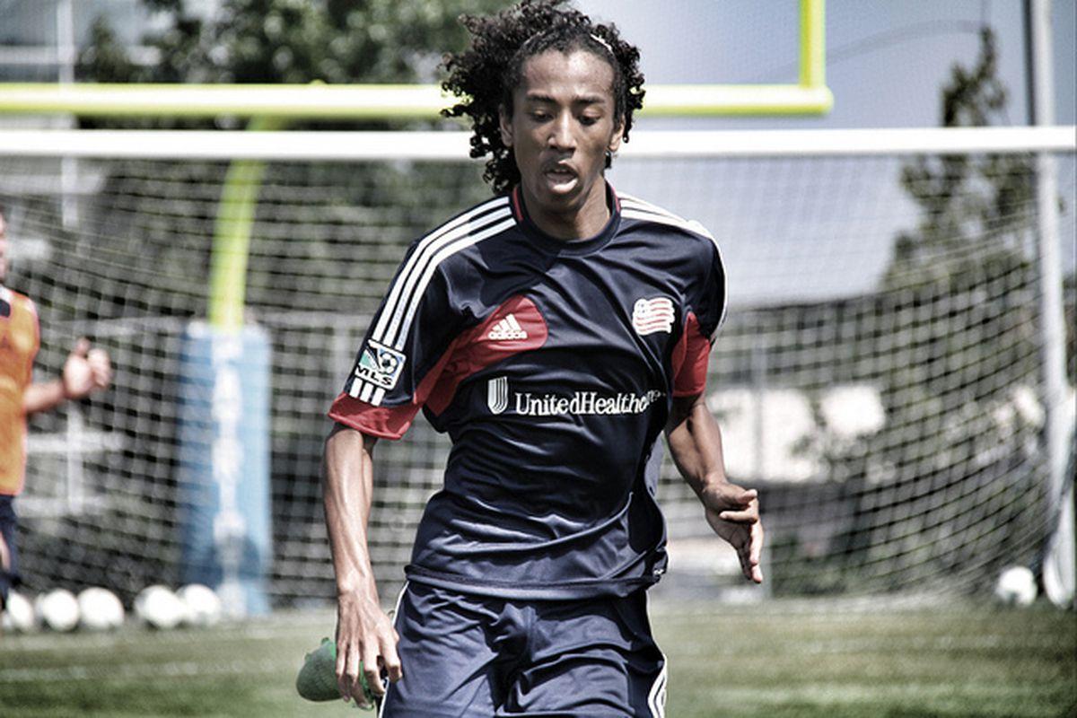 Herivaux in training back in August 2013
