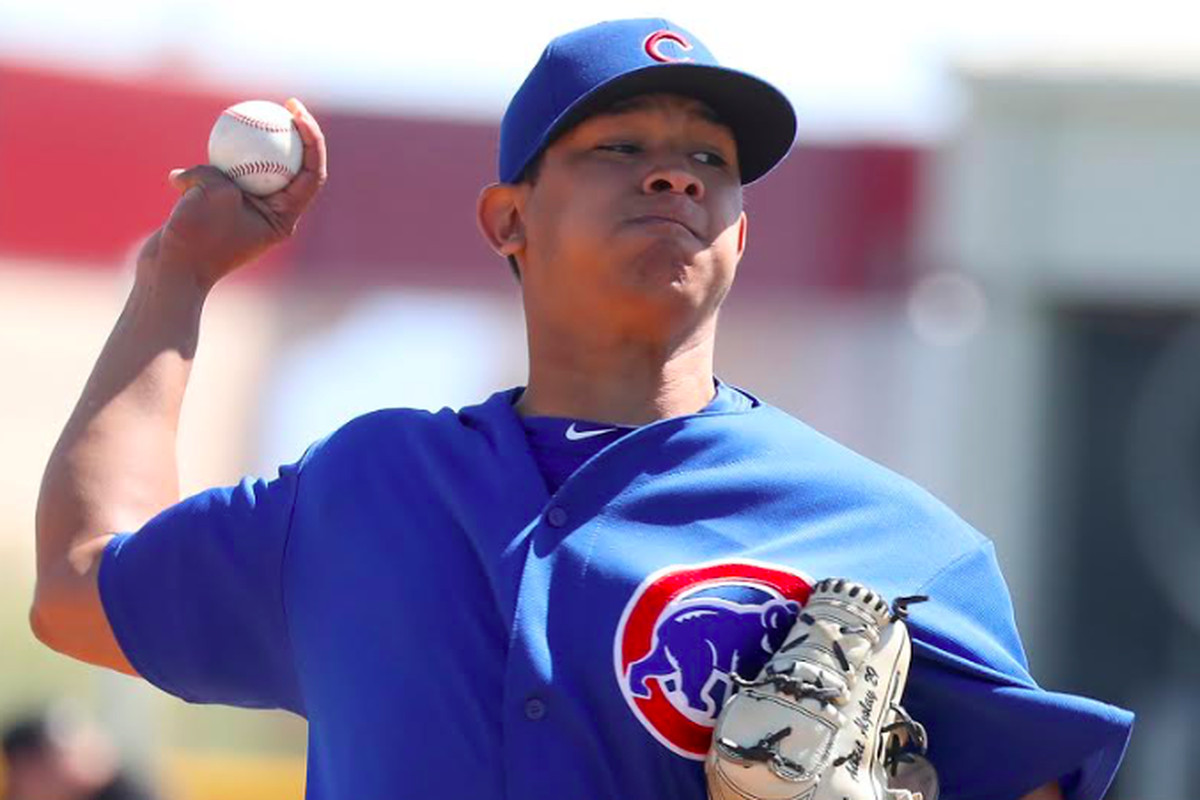 Cubs call up touted pitching prospect Adbert Alzolay to make big-league debut Thursday