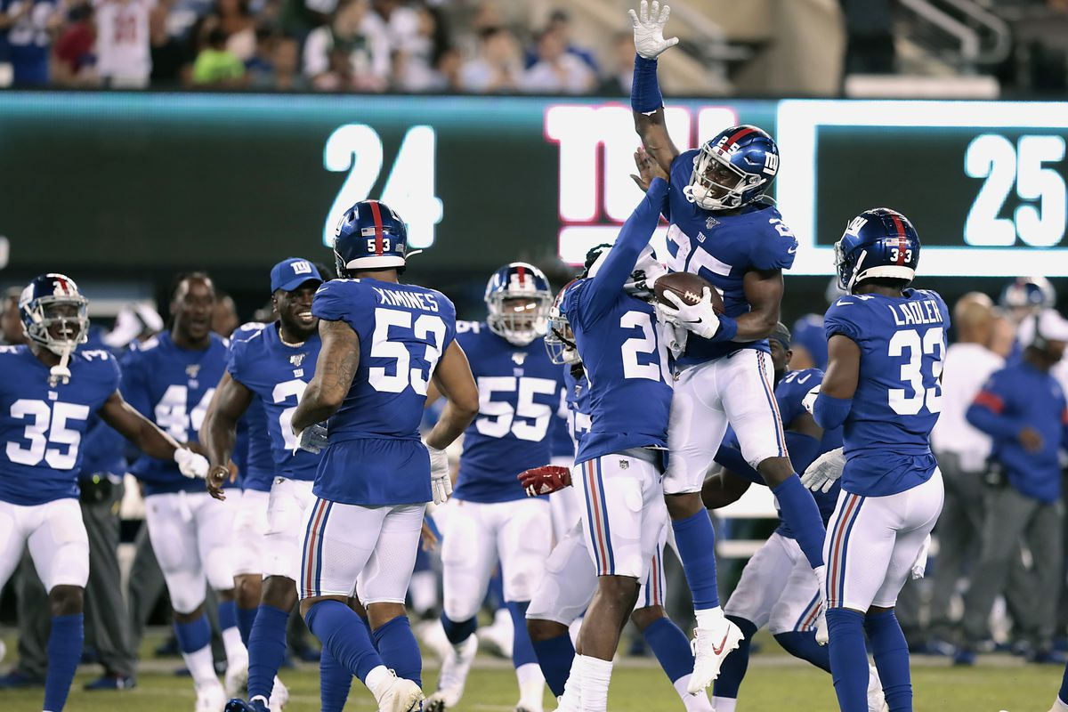 dda24c83 5 winners, 2 losers as Giants defeat Jets, 31-22 - Big Blue View