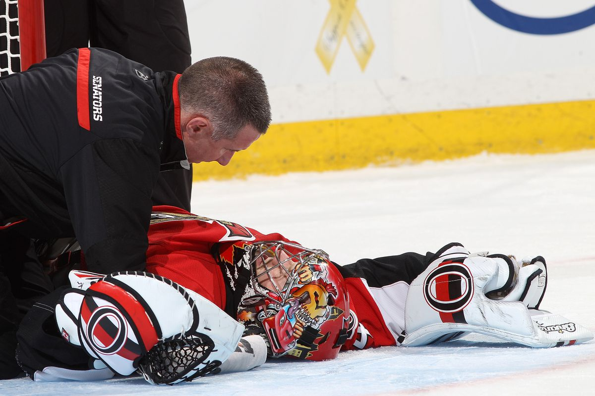 Craig Anderson reacts to finding out GCL's price this year.