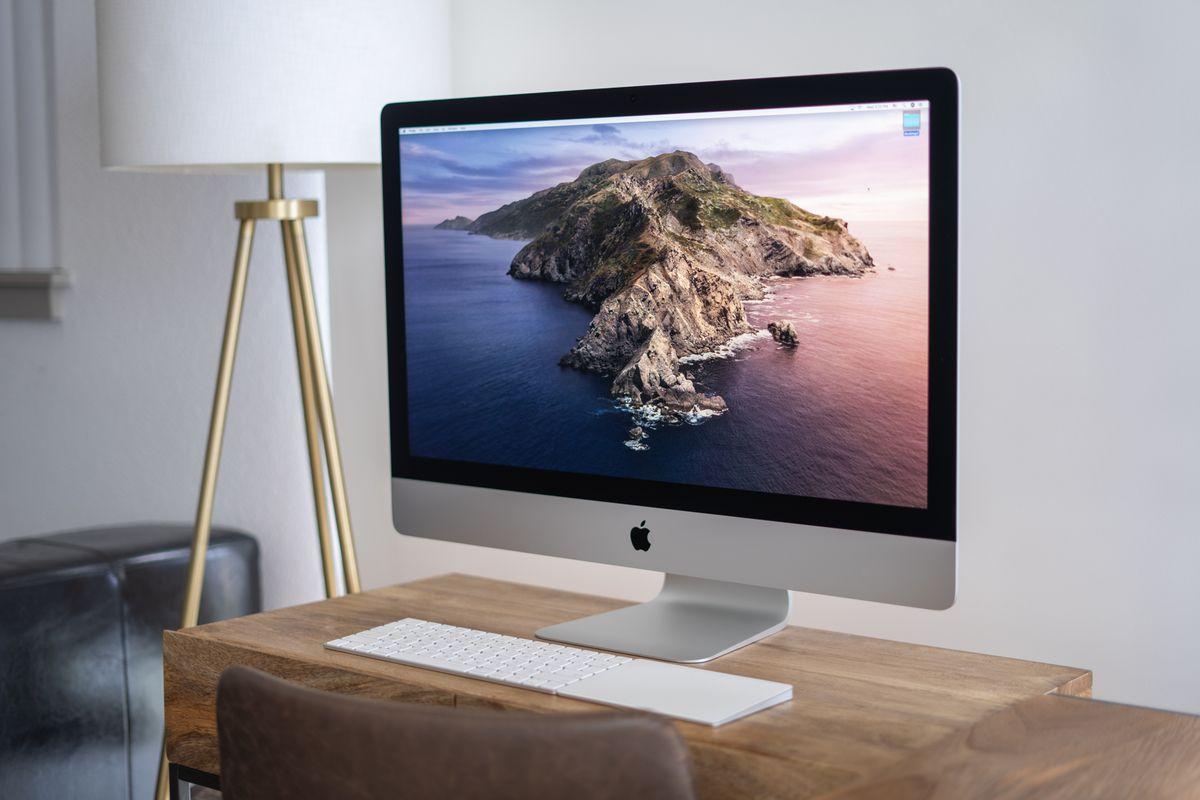 The 2020 27-inch iMac
