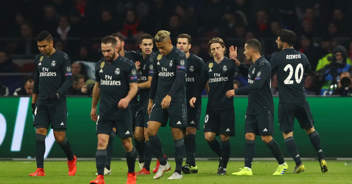 Player Ratings Real Madrid 2: Champions League Player Ratings: Ajax 1-2 Real Madrid