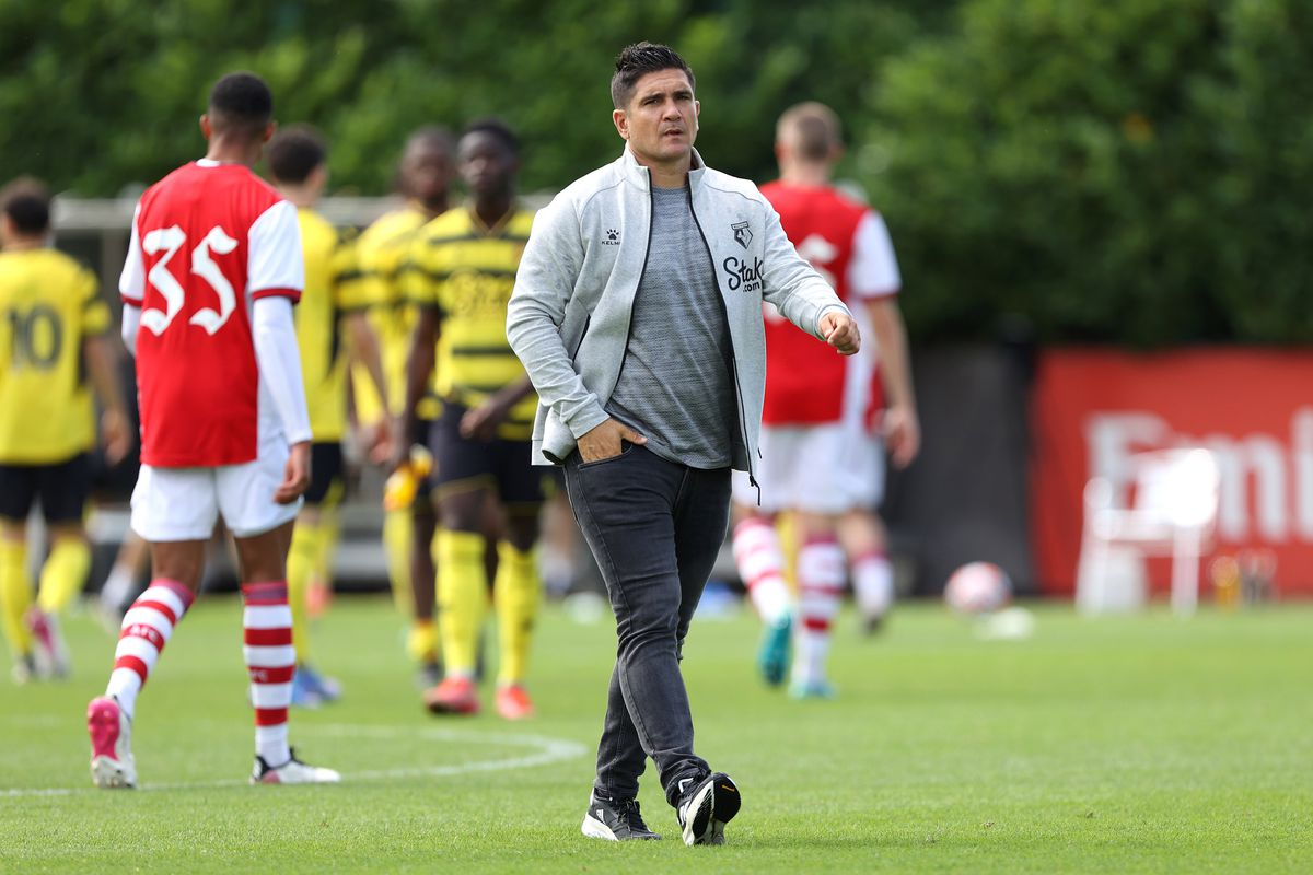 Manager Xisco - Watford - Premier League