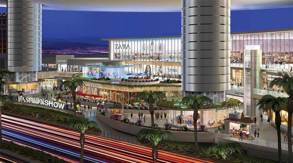 Fashion Show Mall rendering