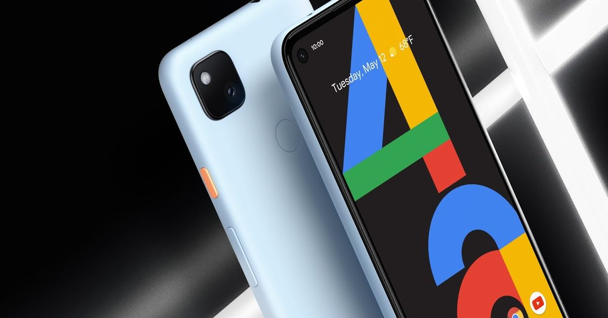 The baby blue Google Pixel 4A is real, and you can buy one right now